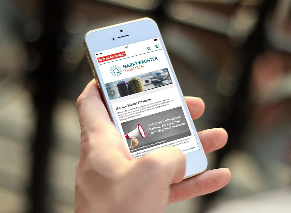 Marktwächter – mobile Ansicht